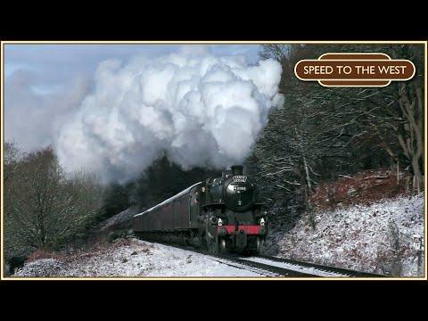 Steam Trains in the Snow - Severn Valley Railway Santa Specials - 09/12/17