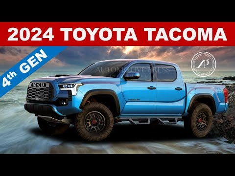 ENGINEER PREDICTS 2023/2024 TOYOTA TACOMA - All New Renderings of the Next Gen 2024 Tacoma TRD Pro
