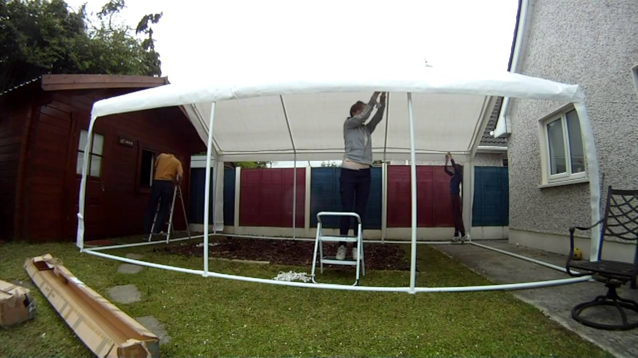 Party Tent Erection & Party Tent Erection - YouTube
