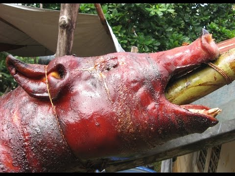 Roast Pig For A Special Party Thanks Richie An Expat Philippine Lifestyles Video