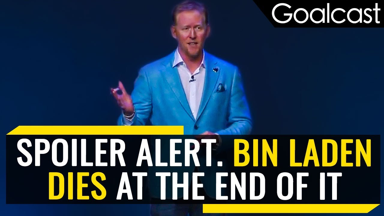 How Osama bin Laden's Hunter Gets a Fresh Start Every Morning | Rob O'Neill | Goalcast