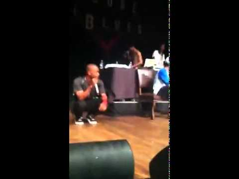 Tyler The Creator & Frank Ocean Diss Chris Brown Before Performing She