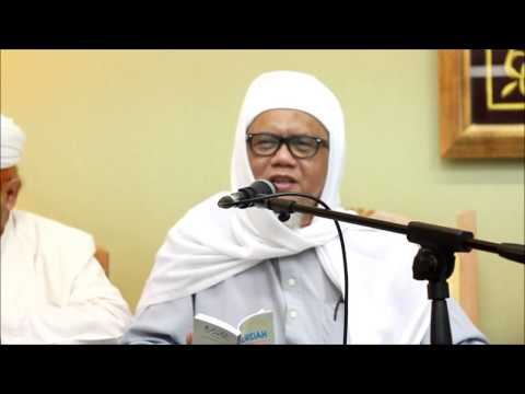 Syeikh Ahmad Fahmi Zam Zam : Penerangan Qasidah Burdah