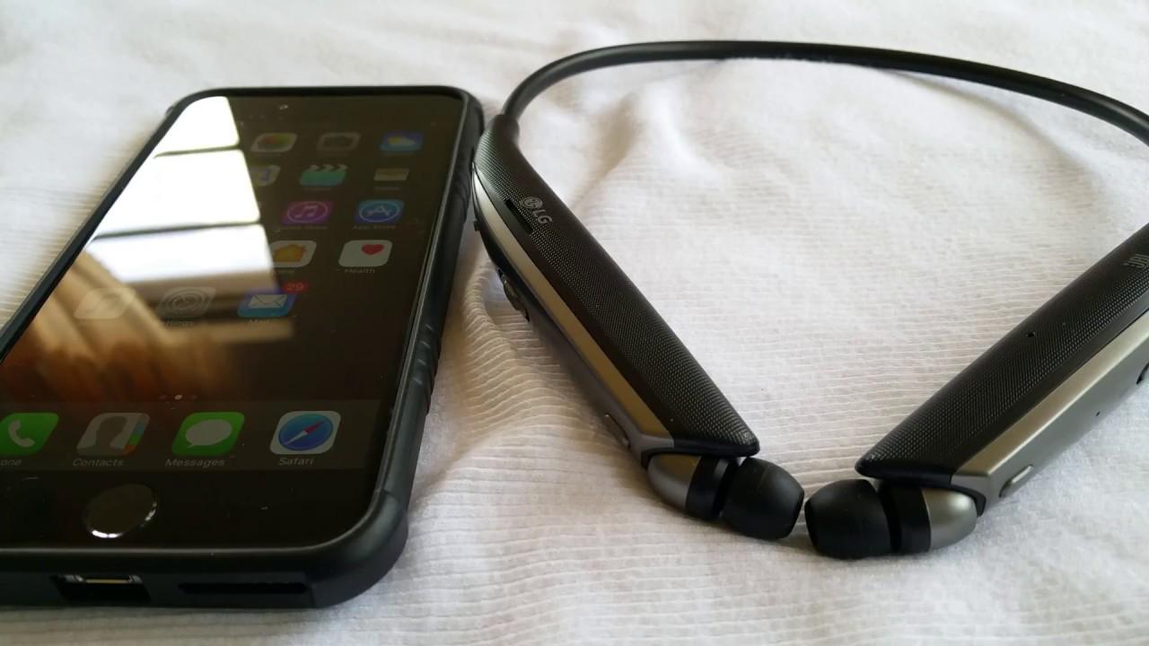 2a7d0164d9e How to pair LG Tone Ultra Plus HBS-820 to Iphone 6 Plus - YouTube