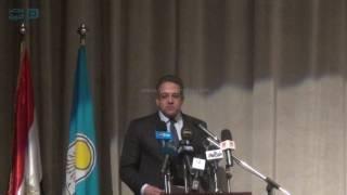 مصر العربية   كلمة وزير الآثار في الافتتاح الجزئي لمتحف الحضارة بالفسطاط