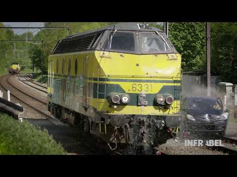 Train crash test Infrabel - long version