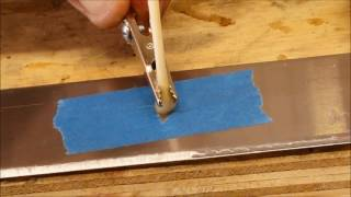 Electro Etching Your Knife Blade