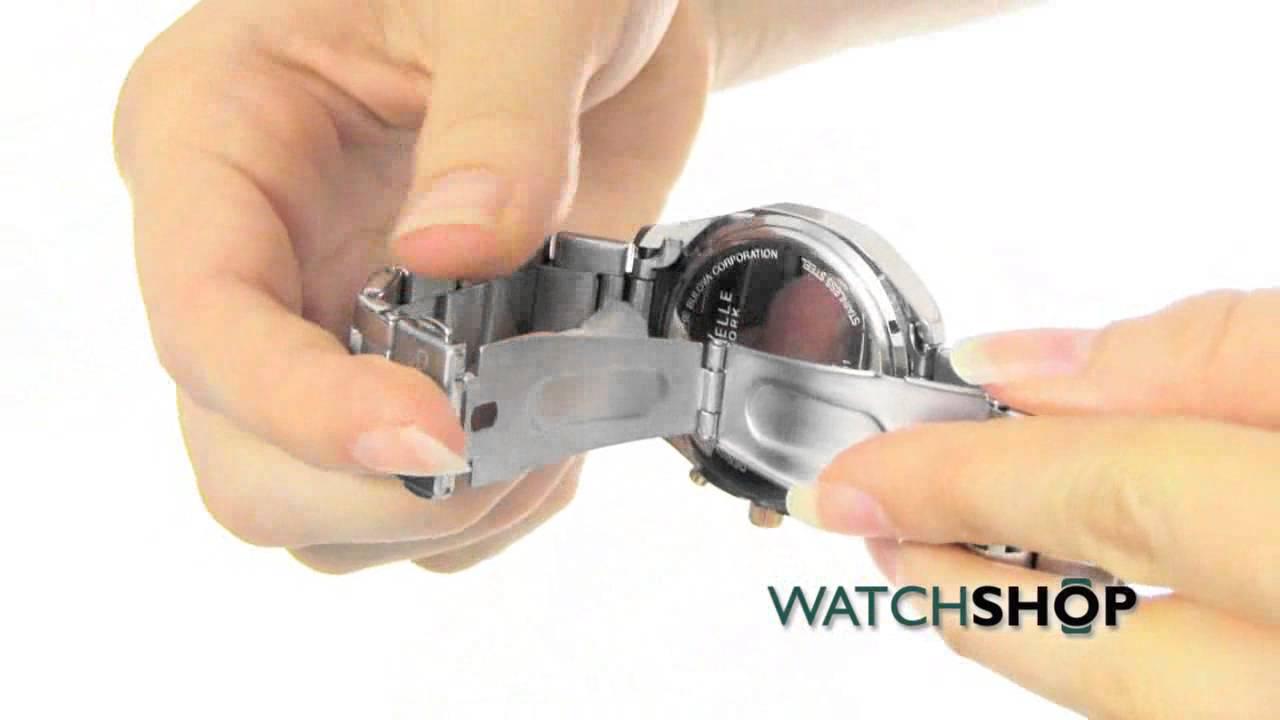 62f5020f7 Caravelle New York Ladies' Melissa Chronograph Watch (45L143) - YouTube