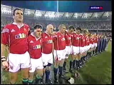 British & Irish Lions 1st Test v Australia - The Gabba, Brisbane 30 June 2001 - Part 1