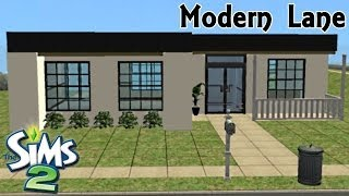 Sims 2 | House Build - Modern Lane(Hey Sims Lovers =) New videos every Monday, Wednesday & Friday !! Like & Comment....Its Free and it helps a lot !! Is a 1 bedroom, 1 bathroom house with a ..., 2014-05-02T17:00:05.000Z)