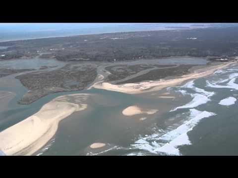 Aerial Tour Of Cape Cod Erosion!