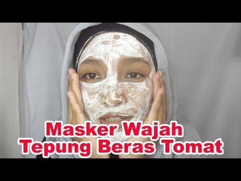 Diy Masker Wajah Tepung Beras Tomat Youtube