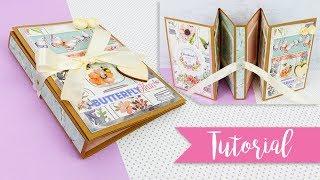 Mini Album Fisarmonica Butterfly - DIY accordion album