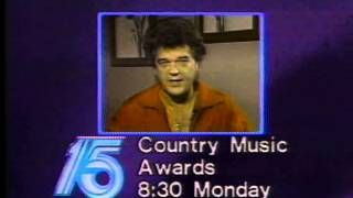 October 1984 - Conway Twitty Promo for Country Music Awards (CMA)