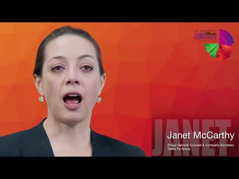 Hear from Janet McCarthy, Chief Legal Officer at Santa Fe Group
