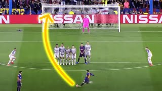 LEGENDARY LEO MESSI FREE KICKS 🐐
