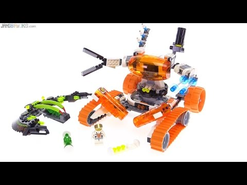 LEGO Mars Mission MT-51 Claw Tank Ambush review! 7697