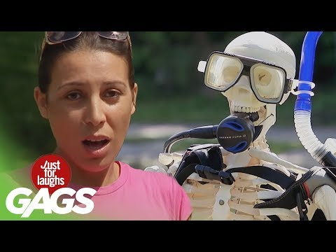 Underwater Pranks - Best of Just For Laughs Gags