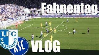 FCM VLOG | Fahnentag mit puren Emotionen | 1.FC Magdeburg - Karlsruher SC