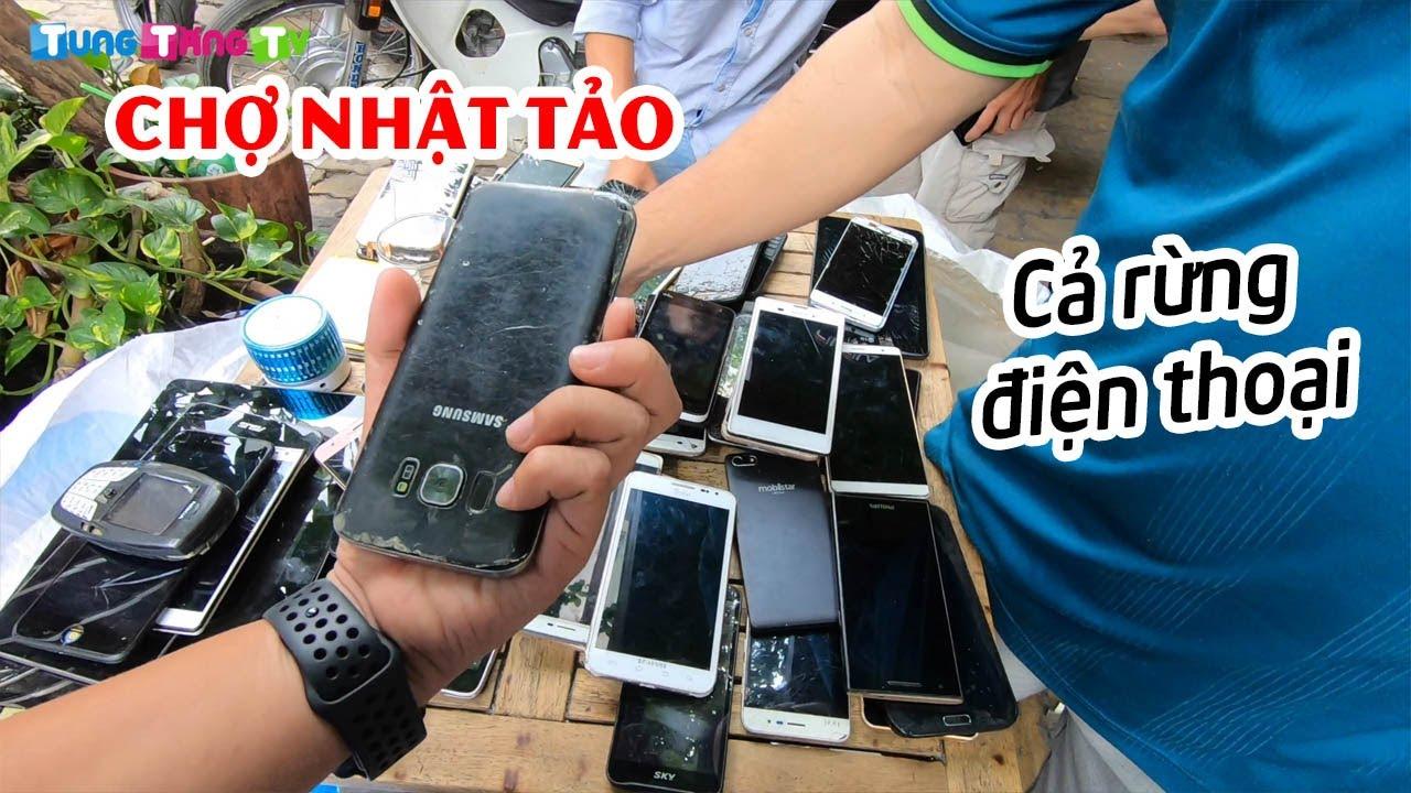 Khám phá Chợ Nhật Tảo thiên đường điện thoại cũ giá rẻ