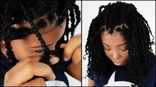 Marley braids hair twists start to finish in 5 minutes!!!