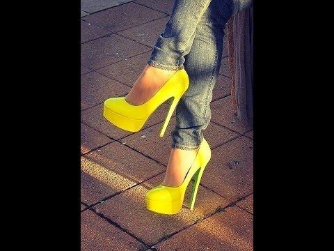 Мода Обувь Весна Лето 2015 Милан Подборка - YouTube