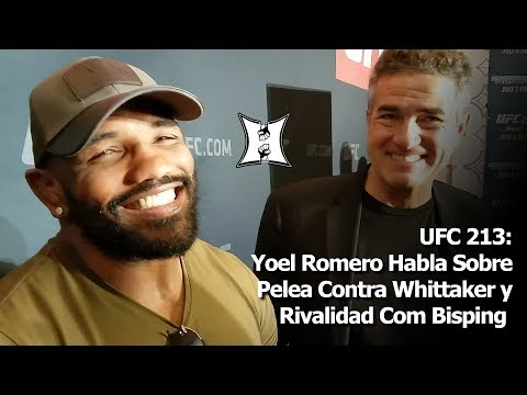 UFC 213: Yoel Romero Habla Sobre Pelea Contra Whittaker y Rivalidad Con Bisping