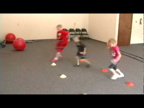 Youth Speed and Explosion Drills