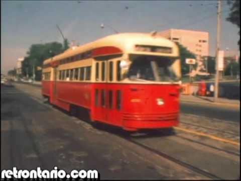 TTC Buses and Streetcars Toronto (1974)