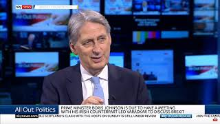 Former Tory Chancellor Philip Hammond MP outlines his preference for a Brexit deal