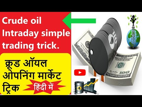 Crude oil Intraday simple trading trick…
