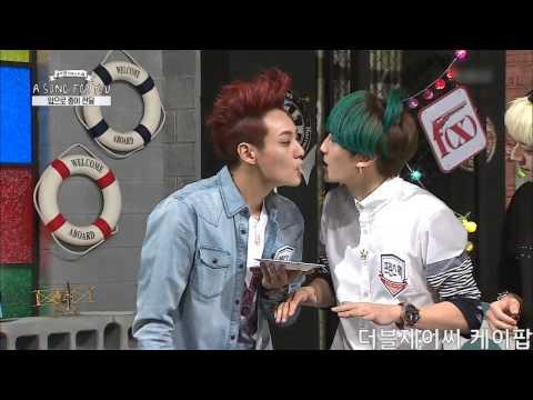 150906 JJCC - 더블제이씨 Round 2 Card Kissing Game