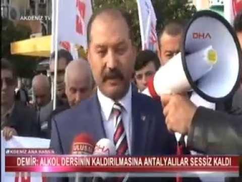 Eğitim İş Genel Başkanı Veli Demir Antalya'da gerçekleşen 19. Eğitim Şurasında alınan şuursuz kararları tanımadıklarını yaptığı basın açıklaması ile belirtti.