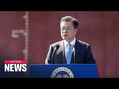 President Moon vows support for local shipping industry to become world's fifth largest