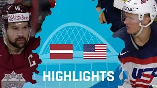 Latvia - USA | Highlights | #IIHFWorlds 2017