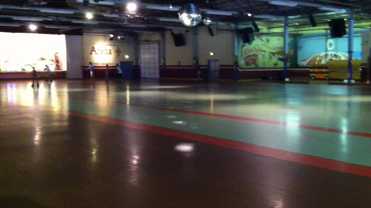 Guptill's Arena - world's largest roller rink - YouTube