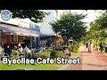 별내 카페거리, Walking around Byeollae Cafe Street (Namyangju, Korea)/4K