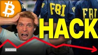 #BITCOIN CRASH DURCH FBI HACK??