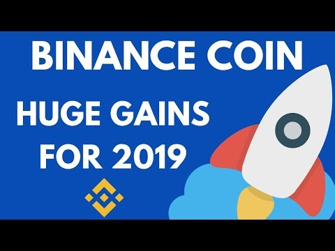 Binance Coin BNB - TOP PICK for 2019 for HUGE GAINS?