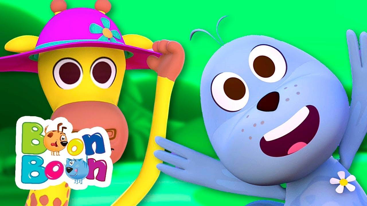 Girafa și foca - Cântece pentru copii | BoonBoon
