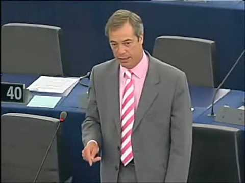 Help Member States break free from this economic prison of nations - Nigel Farage MEP