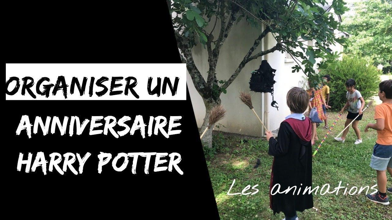 8 Idees D Animation Pour Un Anniversaire Harry Potter Recettes