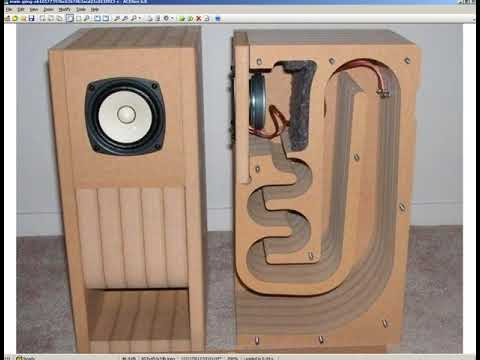 A mini caixa de som deslinearizada