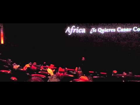 Pedida de mano de Shadi a Africa en el Cine