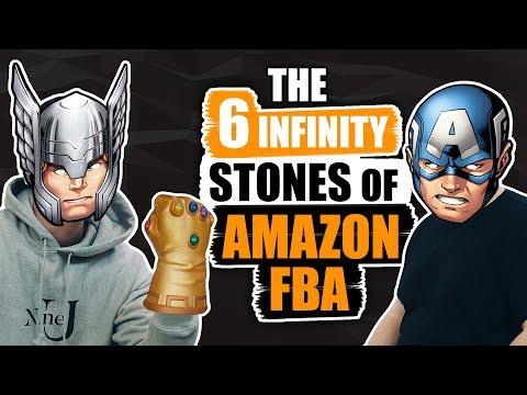 The 6 INFINITY STONES  of AMAZON FBA 🙌 AVENGERS Infinity War ONLINE BUSINESS EDITION]