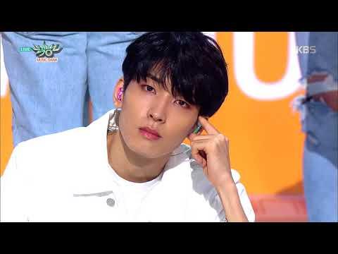 뮤직뱅크 Music Bank -어쩌나(OH MY) - 세븐틴(SEVENTEEN).20180720