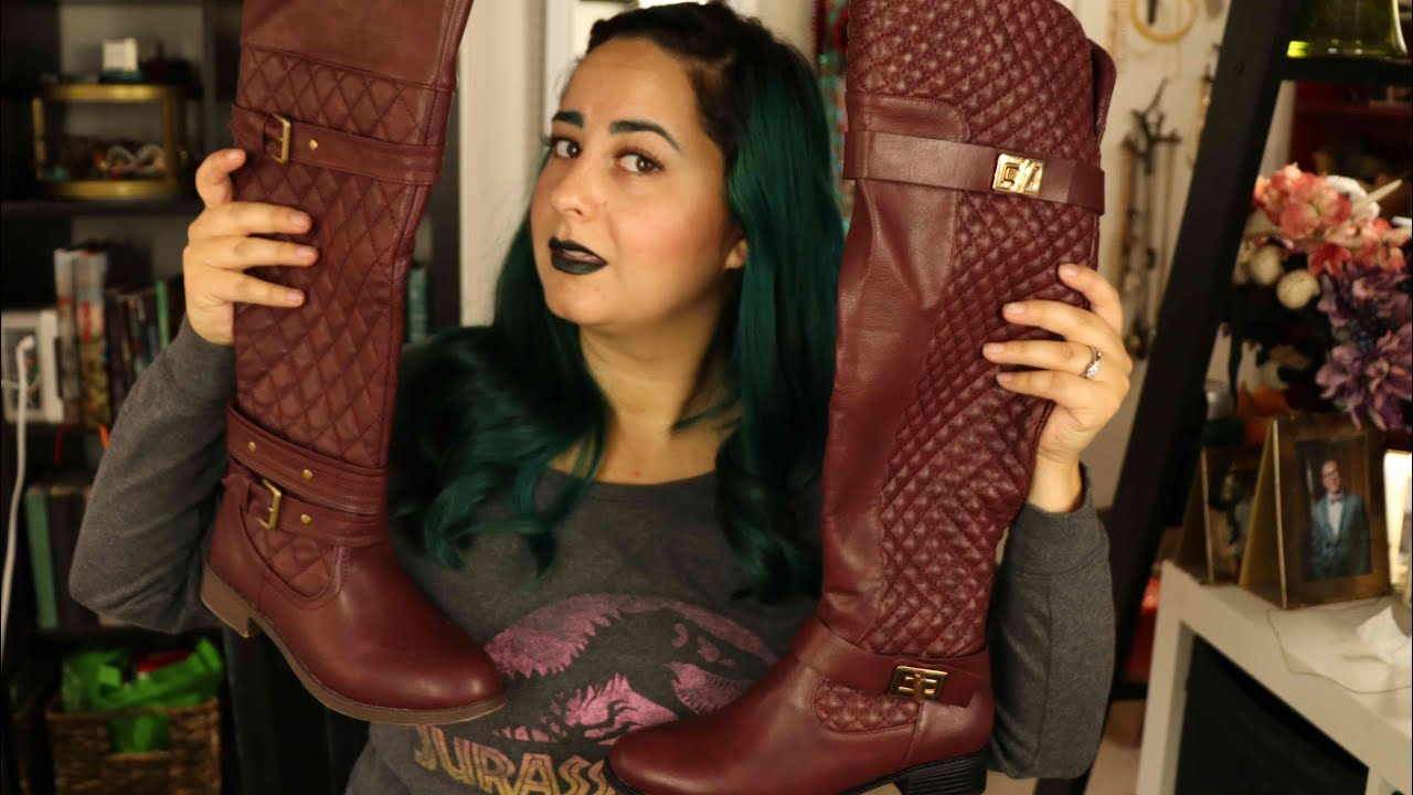 55afd9e4b2b JustFab V Shoedazzle- who will win the battle of the boots - YouTube