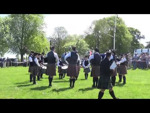 Cullybackey Pipe Band @ Ards & North Down Pipe Band Championships 2016