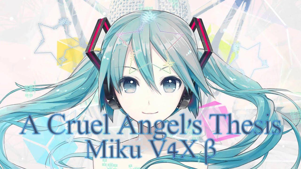 cruel angel thesis hatsune miku