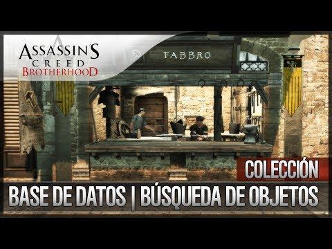 Assassin's Creed Brotherhood | Walkthrough | Colección | Busqueda de Objetos | Base de Datos